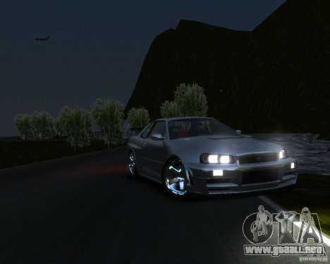 Rocky Drift Island para GTA 4 adelante de pantalla