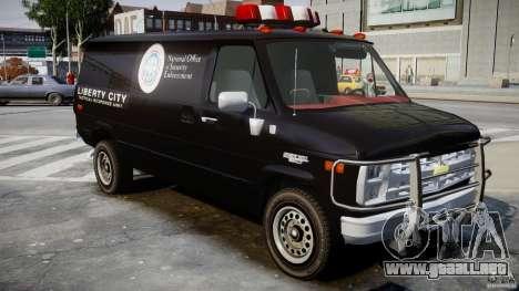 Chevrolet G20 Van V1.1 para GTA 4 visión correcta