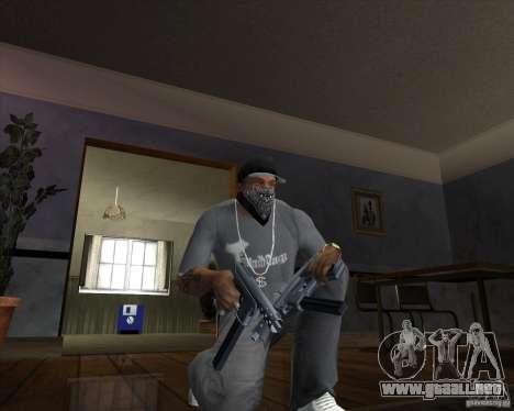 Tec 9 (HQ) para GTA San Andreas segunda pantalla