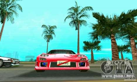 Mazda RX7 Charge-Speed para GTA Vice City visión correcta