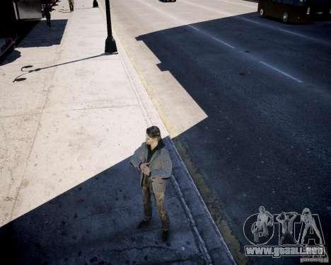 Alan Wake para GTA 4 adelante de pantalla