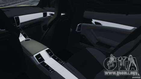 Porsche Panamera Turbo 2010 para GTA 4 vista interior
