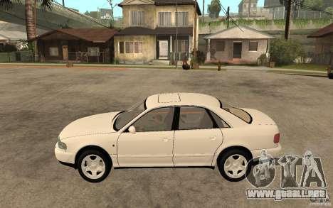 Audi A8 4.8L 2000 para GTA San Andreas left