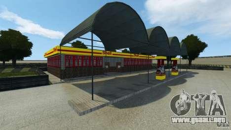 Dakota Raceway [HD] Retexture para GTA 4 adelante de pantalla