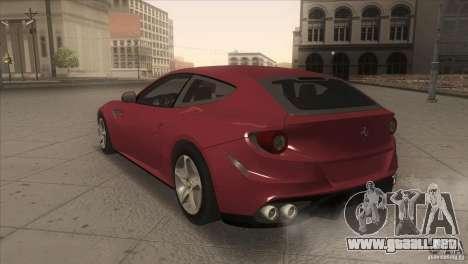 Ferrari FF 2011 V1.0 para la visión correcta GTA San Andreas