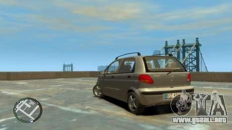 Daewoo Matiz Style 2000 para GTA 4 left