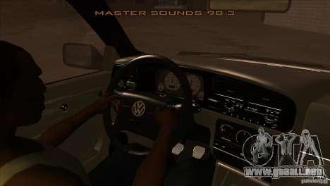 Volkswagen Golf MK3 VR6 para visión interna GTA San Andreas