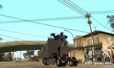 DAF XF para la visión correcta GTA San Andreas