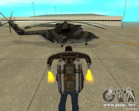 MI-26 para la visión correcta GTA San Andreas