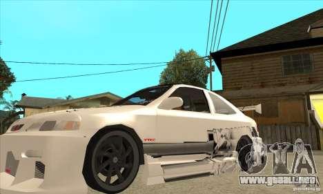 Honda Civic Tuning Tunable para GTA San Andreas