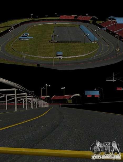 Nascar Rf para GTA San Andreas quinta pantalla