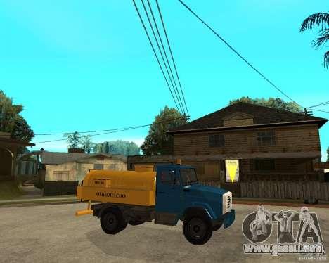 ZIL-433362 Extra Pack 2 para vista lateral GTA San Andreas