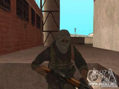 Dušman 2 de COD4MW para GTA San Andreas tercera pantalla