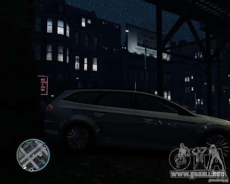Ford Mondeo Mk4 para GTA 4 visión correcta