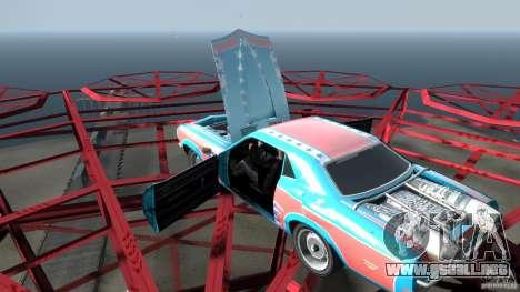 Afterburner Flatout UC para GTA 4 vista desde abajo