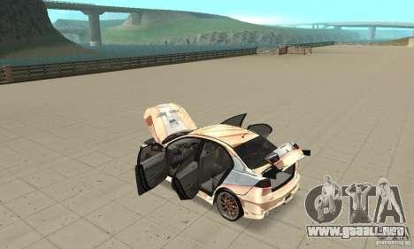 Mitsubishi Lancer Evolution X para visión interna GTA San Andreas