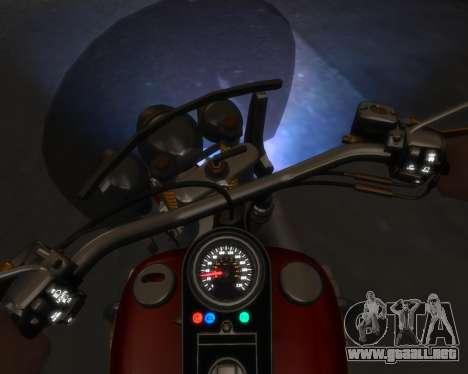 Harley-Davidson Fat Boy Lo (Vintage final) para GTA 4 left