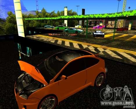 Ford Focus ST Racing Edition para la visión correcta GTA San Andreas