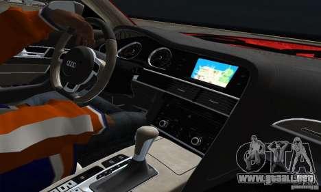 Audi A6 Avant Stanced para visión interna GTA San Andreas