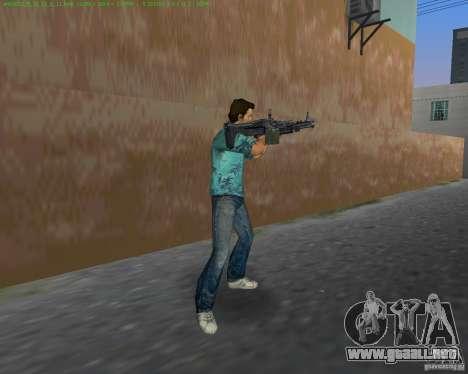 La nueva M-60 para GTA Vice City sucesivamente de pantalla