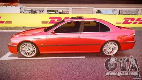 BMW 530I E39 stock chrome wheels para GTA 4 left
