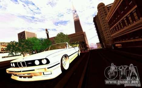 BMW E30 M3 Cabrio para las ruedas de GTA San Andreas