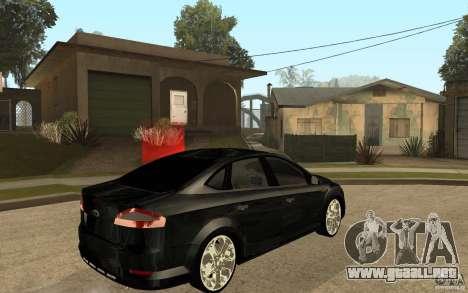 Ford Mondeo 2009 para la visión correcta GTA San Andreas