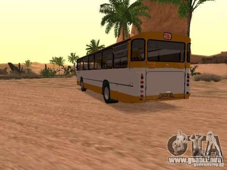 Mercedes-Benz O305 para GTA San Andreas interior