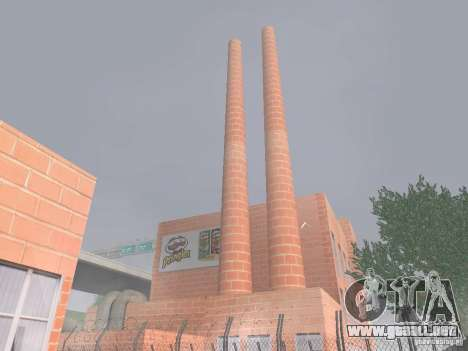 Pringles Factory para GTA San Andreas