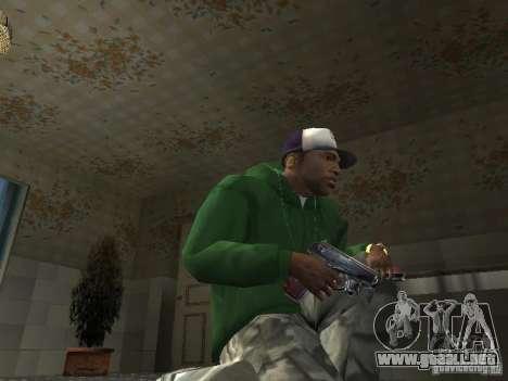 Pak domésticos armas V2 para GTA San Andreas octavo de pantalla