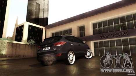 Hyundai iX35 Edit RC3D para visión interna GTA San Andreas