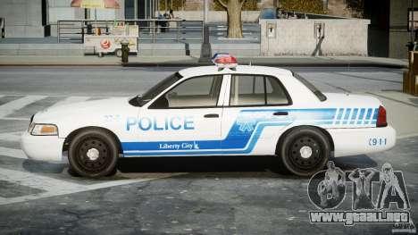 Ford Crown Victoria CVPI-V4.4M [ELS] para GTA 4 left