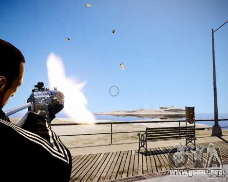 AKS-74U para GTA 4 quinta pantalla