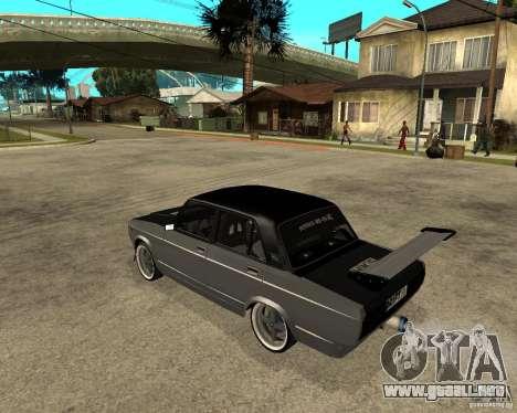 ВАЗ 2107 deriva para GTA San Andreas left