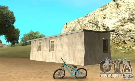 Dirt Jump Bike para GTA San Andreas vista posterior izquierda