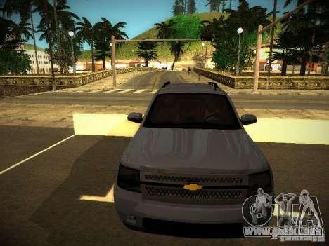 Chevrolet Tahoe HD Rimz para GTA San Andreas left