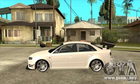 Audi RS4 2006 para GTA San Andreas left