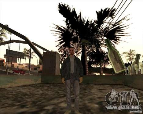 Estrías blancas para GTA San Andreas segunda pantalla