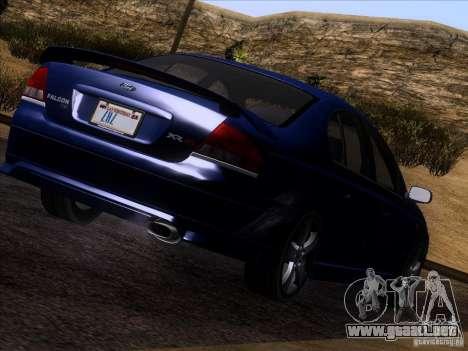 Ford Falcon para GTA San Andreas left