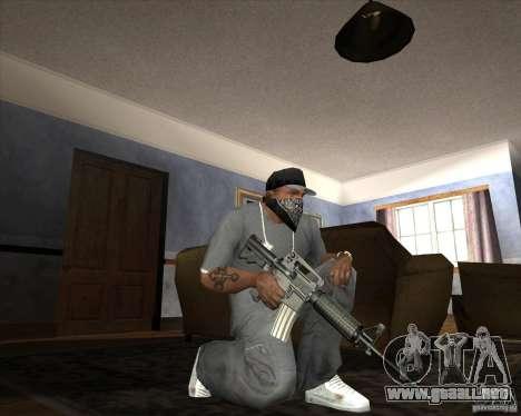 Jarra Mono Arsenal v1.2 para GTA San Andreas undécima de pantalla