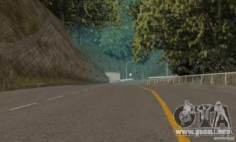 Welcome to AKINA Beta3 para GTA San Andreas segunda pantalla