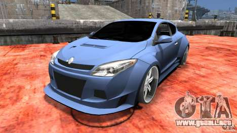 Renault Megane Coupe para GTA 4 left