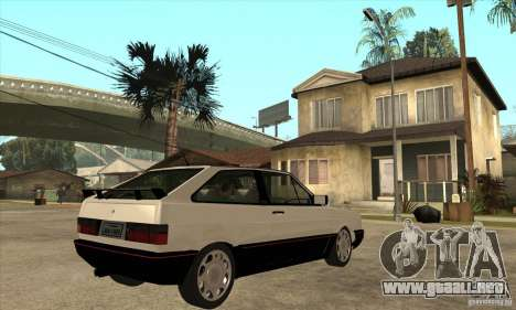VW Gol GTS 1989 para la visión correcta GTA San Andreas