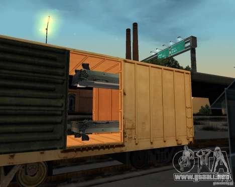 Nueva estación de ferrocarril para GTA San Andreas sexta pantalla