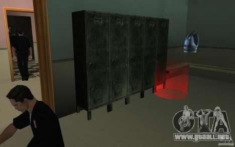 Fuerzas especiales-CJ para GTA San Andreas tercera pantalla