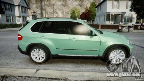 BMW X5 Experience Version 2009 Wheels 223M para GTA 4 vista lateral