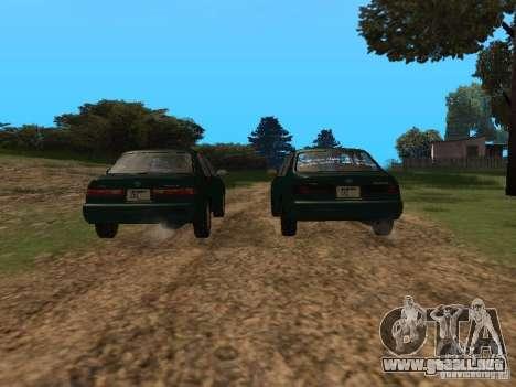 Toyota Camry Arabian Tuning para visión interna GTA San Andreas