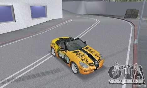 Mercedes-Benz SLK 350 para las ruedas de GTA San Andreas