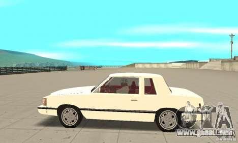 Dodge Aries 1983 para GTA San Andreas left