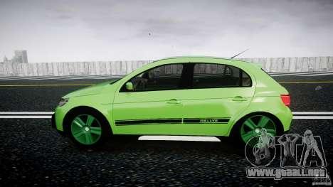 Volkswagen Gol Rallye 2012 v2.0 para GTA 4 left